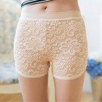 【歳末SALE☆全品10%OFF】ほんのり透け感が色っぽいショートパンツ(PANTS) ベージュ