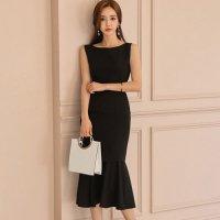 【最大25%OFF☆ホワイトデー】シックに美しさが際立つオケージョンスタイルのドレス(キャバドレス・CABARETDRESS)