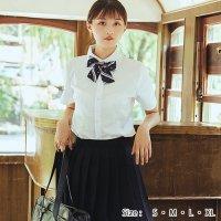 定番ネイビーの半袖JK制服風コスプレ(COSPLAY)