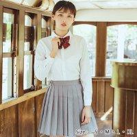 【最大70%OFF☆HALLOWEEN】爽やかなライトグレーの長袖JK制服風コスプレ(COSPLAY)