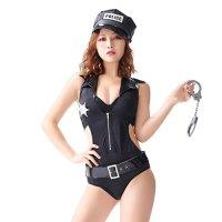【只今ハロウィンフェア開催中!】ハードでセクシーな警察官風コスプレ(COSPLAY)