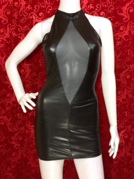SAN MARINO ドレス ウェットルック