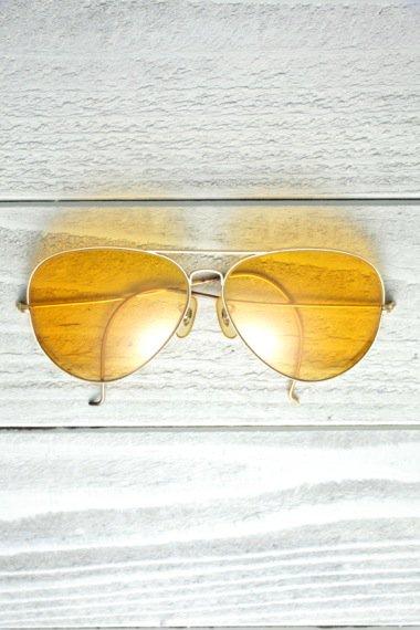 Teardrop Yellow Lens