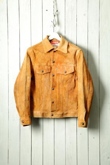 Levi's Suede Jacket Big-E