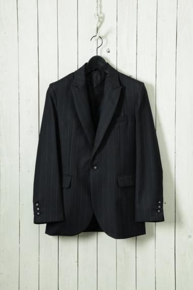 UTAKI×YELLOW CAKE Suit Black Stripe