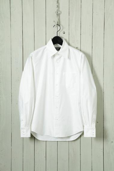 UTAKI×YELLOW CAKE Supima Cotton Shirts White