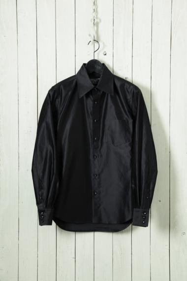 UTAKI×YELLOW CAKE Supima Cotton Shirts Black