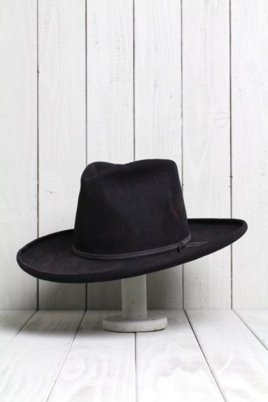 Concho&Arrow Design Hat Black