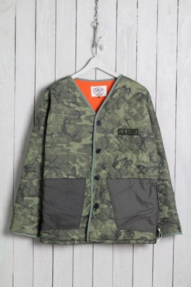 Quilt Jacket Camouflage