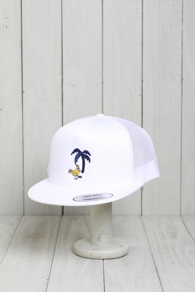 Limited Mesh Cap White