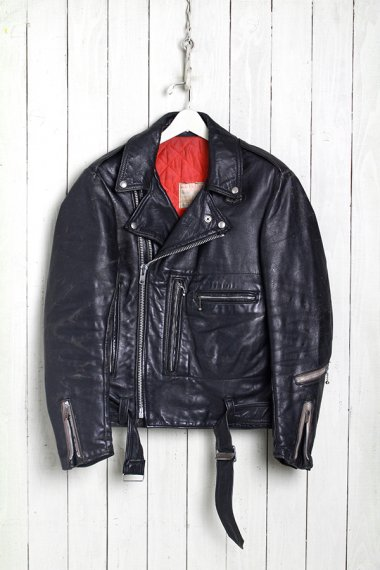 LEWIS LEATHERS W.Riders Twin Zipper