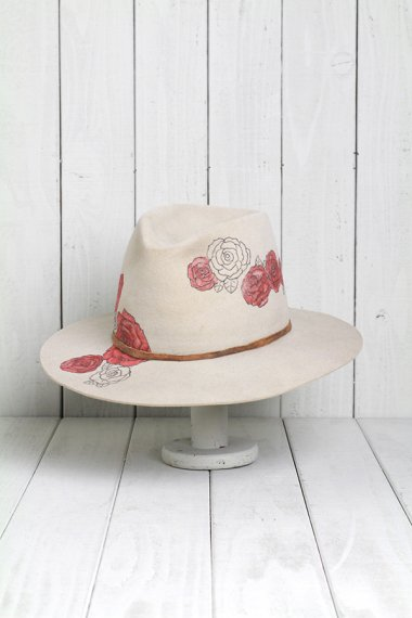 Grateful Dead Design Hat Beige