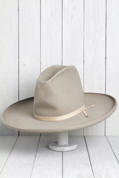 STETSON Hat High Crown&Long Brim