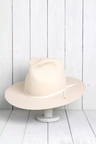 STETSON Hat White 20X