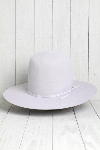 STETSON Hat Gray 20X