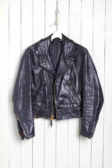 CAL LEATHER W.Riders Policeman Jacket