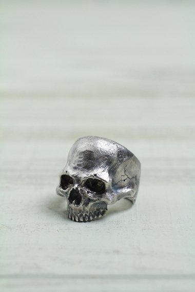 YELLOW CAKE Original Skull Ring【Custom Order】