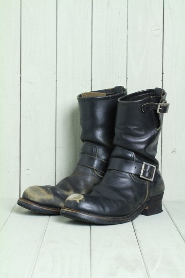 Engineer Boots 2268 PT99 Black(Size8.5)