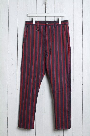 19SS Multi Stripe Trousers Red
