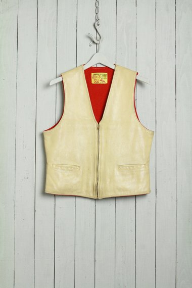 CLAYTON MICHELS Deerskin Vest