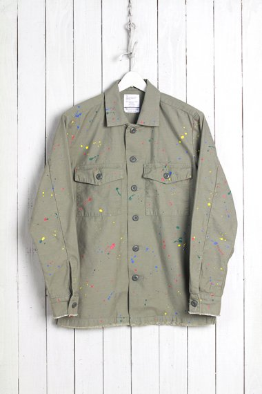19SS Dropping Military Shirts Olive