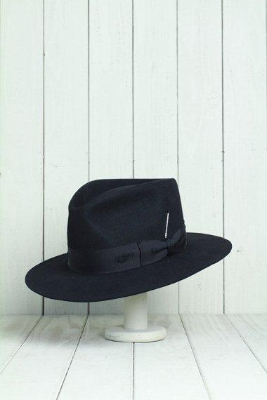 Classic Mink Hat Black