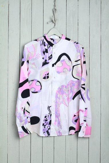 EMILIO PUCCI Shirts Collarless