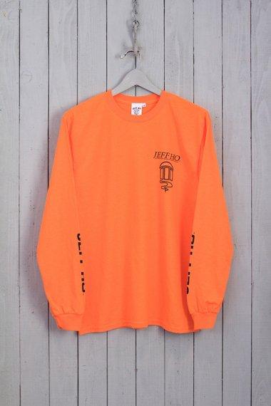 Classic Design L/S Tee Orange
