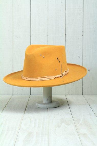 Beaver Felt Hat Orange