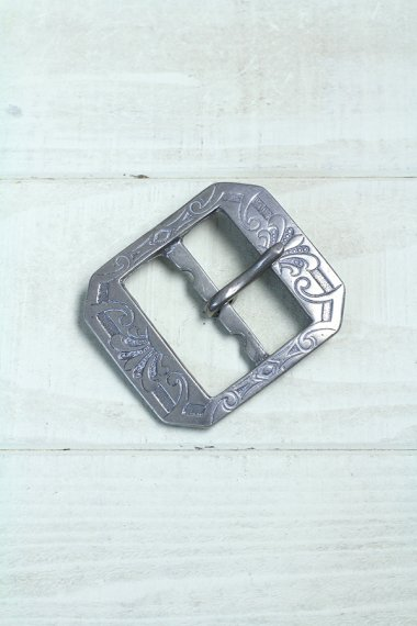 Belt Buckle Square Carving