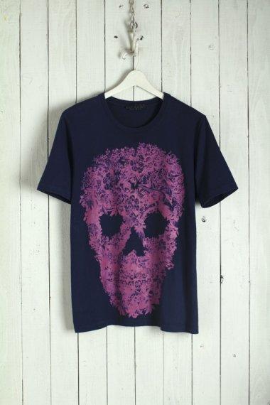 ALEXANDER MAQUEEN Tee Flower Skull