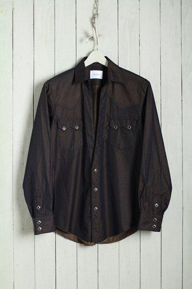 19AW Western Cutting Shirts -Splashed Pattern-