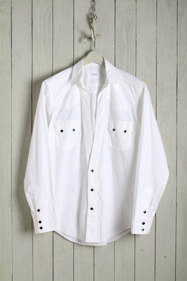 19AW Western Cutting Shirts -Broad Cloth-