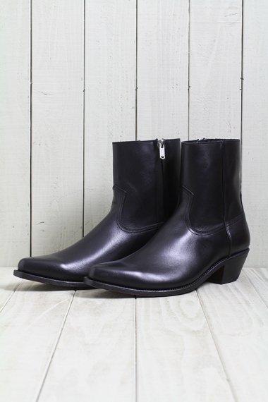 19AW Western Dress Side Zip Boots -Black-