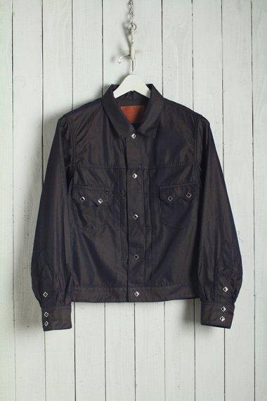 19AW Western Shorts Shirt -Splashed Pattern-