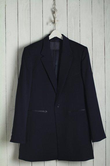 19AW Single Middle Breasted Jacket -Gabardine Wool-