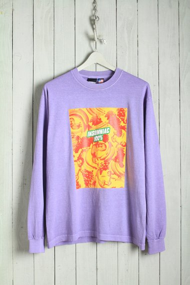 19AW Baby Salad L/S Tee Purple
