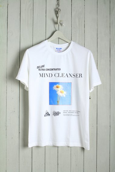 19AW Mind Cleaner Tee Ivory