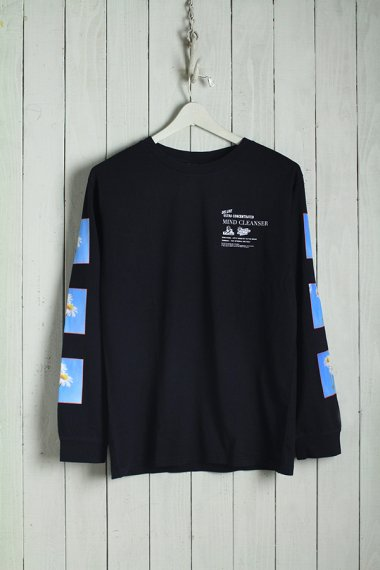 19AW Mind Cleaner L/S Tee Black