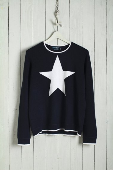 Cashmere Knit Star Design