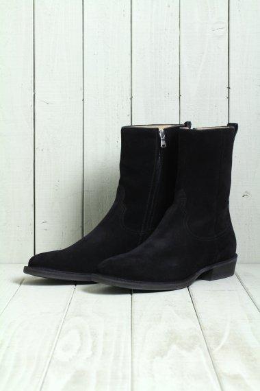 MINEDENIM×nonnative 19AW Side Zip Boots BLK
