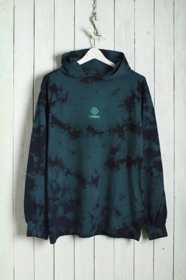 19AW Midnighters L/S Tee Pullover Hood Green
