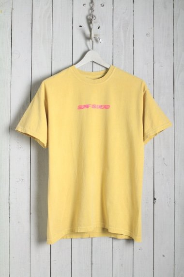 20SS Blurred Vision Tee Mustard