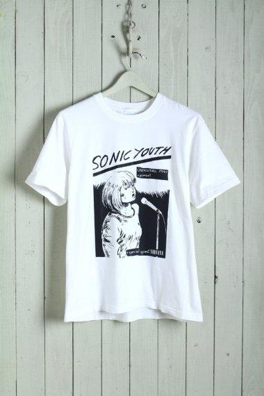 SONIC YOUTH +gumball +NIRVANA Tee【Dead Stock】