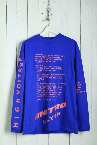 20SS Voltage L/S Tee Blue