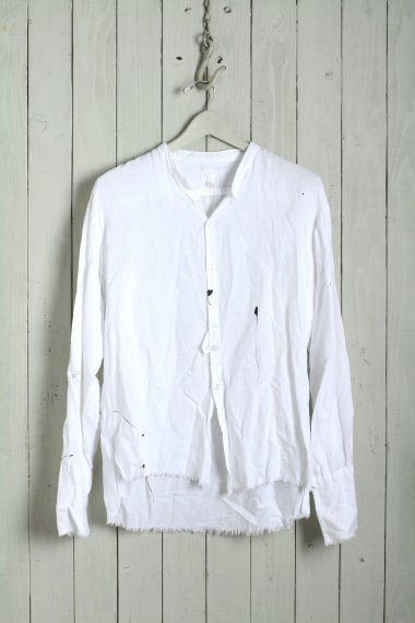 GREG LAUREN Hemp Shirts White