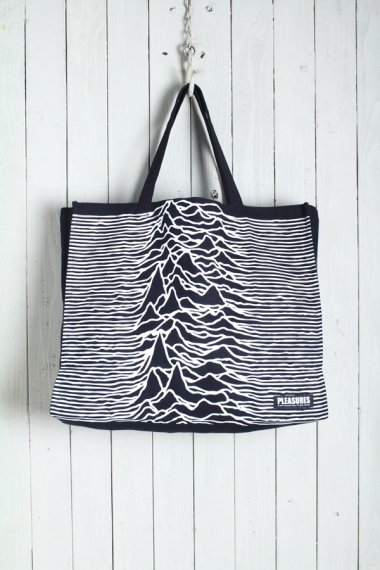 PLEASURES by Joy Division Wildness Heavyweight Tote Bag