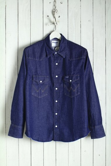 20SS Broken-Twill Story Western Shirts Rigid