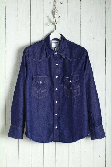20SS Broken-Twill Story Western Shirts Rigid