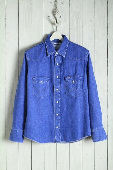 20SS Broken-Twill Story Western Shirts Used
